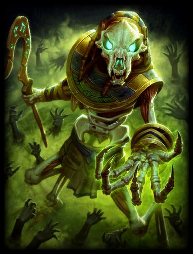 Gravehound Anubis Card