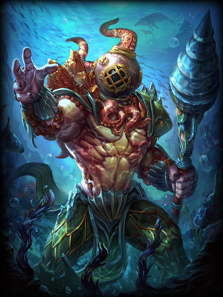 King of the Deep Poseidon (B)