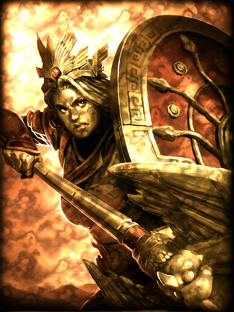 Legendary Athena