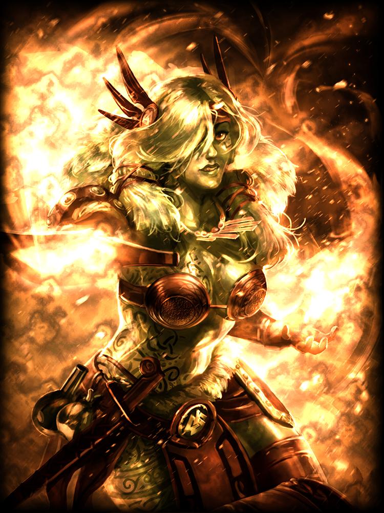 Legendary Freya